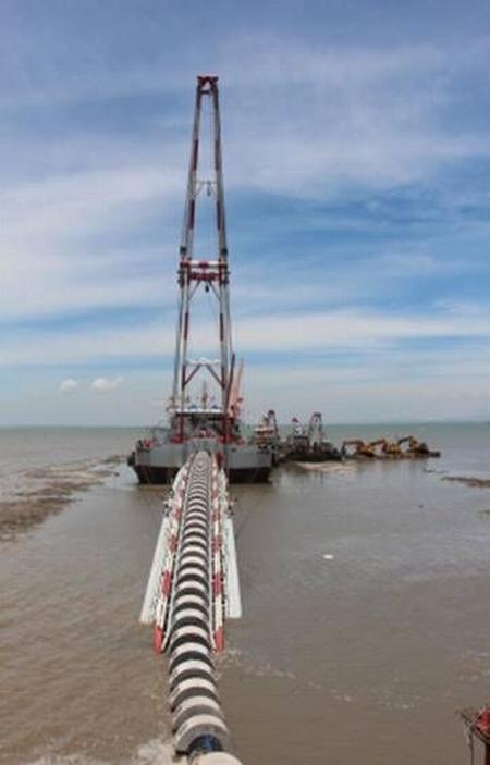 金门自大陆引水工程海底管道今日动工